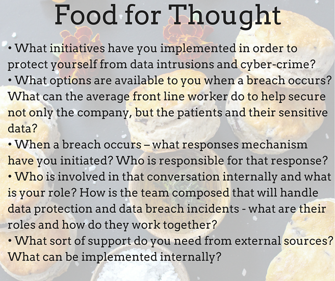 Food for thought Cyber Security