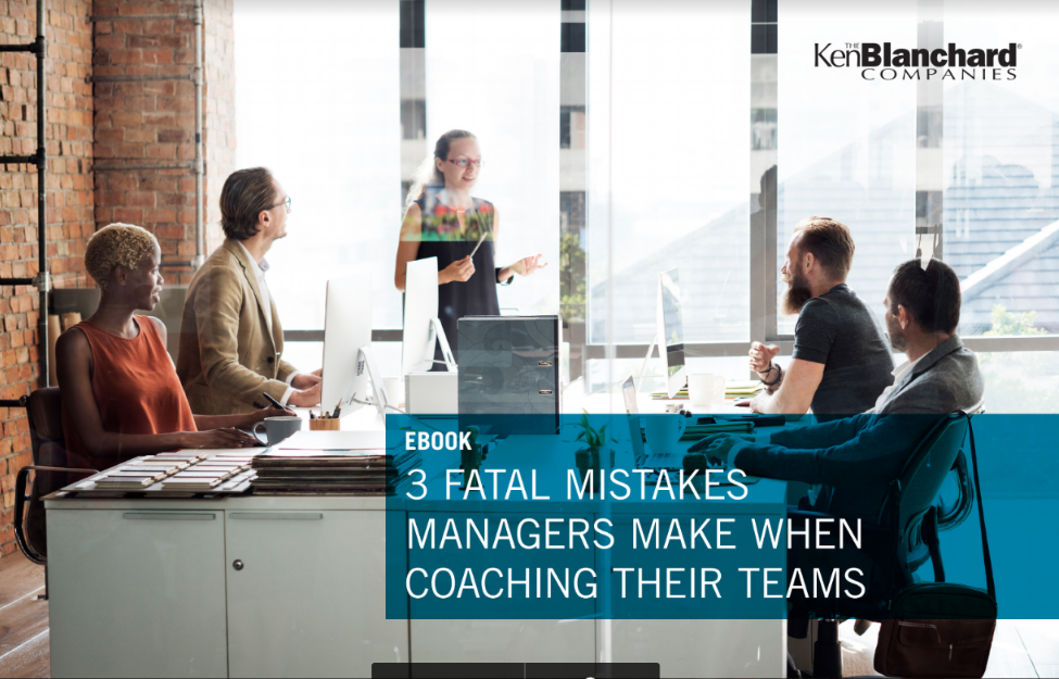 3 Fatal Mistakes Managers Make When Coaching Their Teams