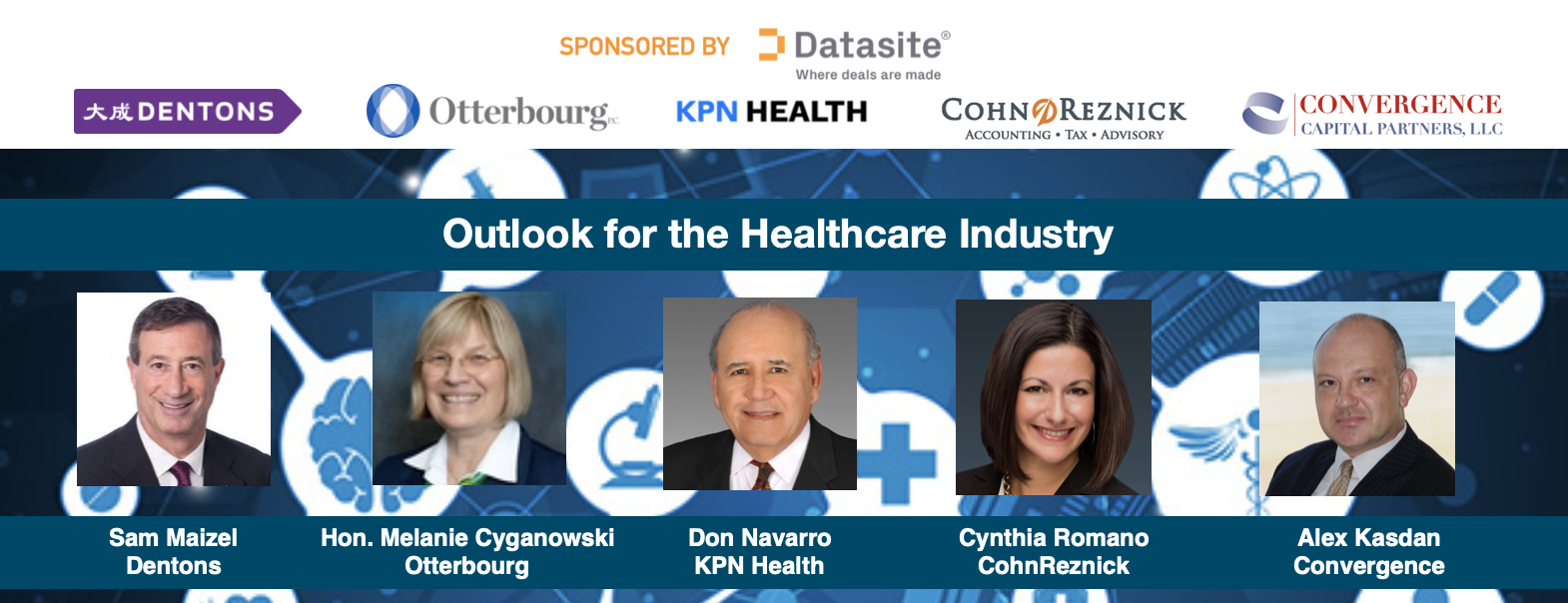 Webcast: Outlook for the Healthcare Industry – Post COVID-19